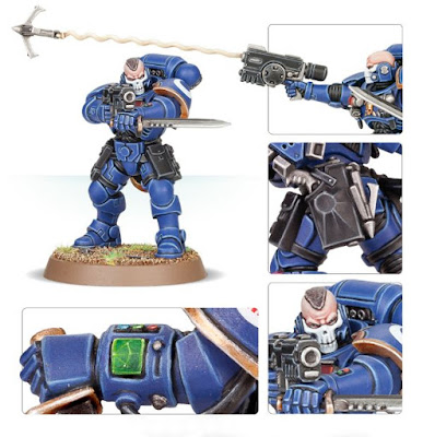 8th edition primaris space marine reivers review grappling hook