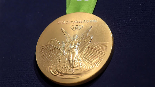 Gold Medal Winners list Rio Olympics