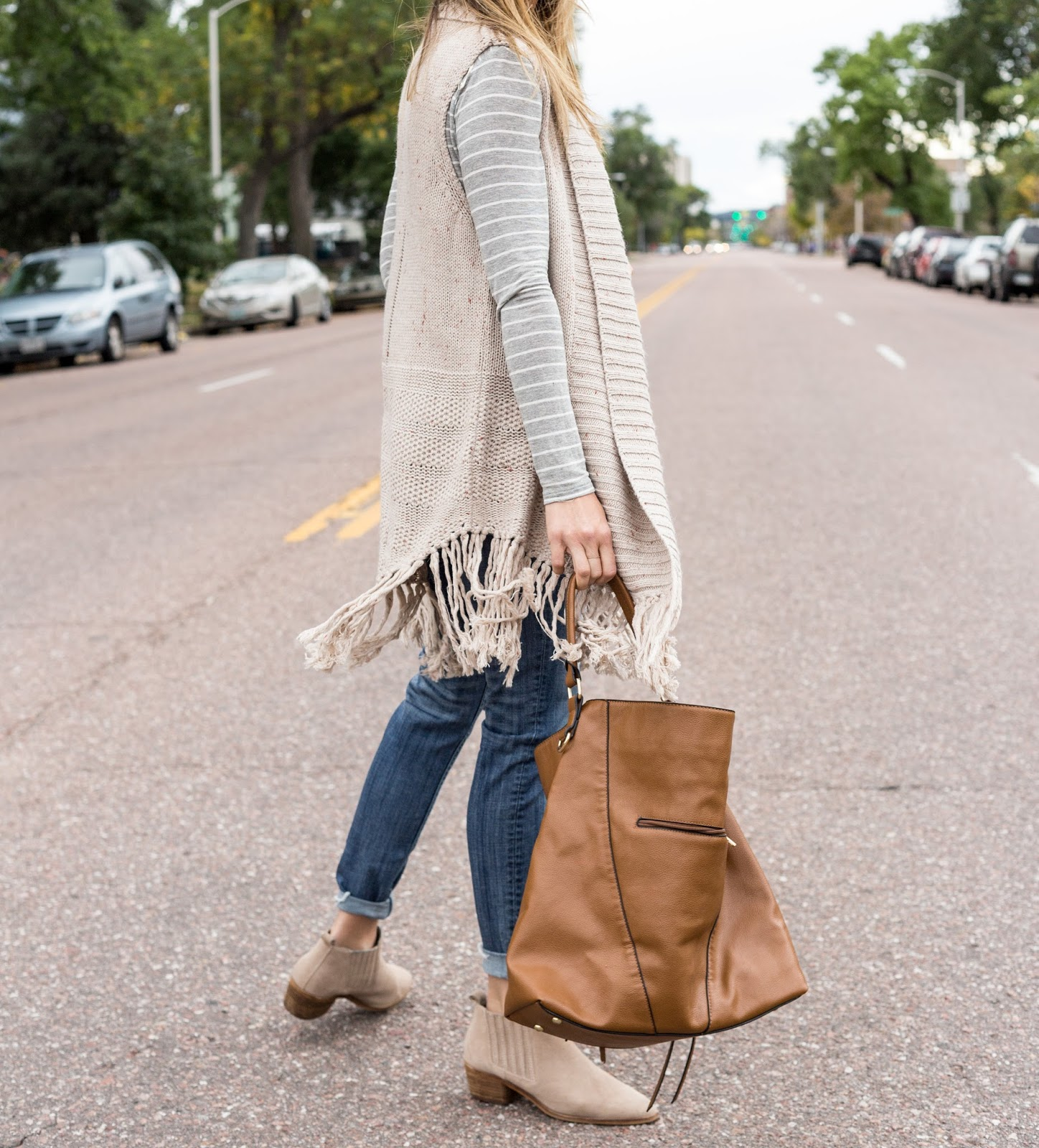3 Tips For Layering A Fringe Vest For Fall by Colorado fashion blogger Eat Pray Wear Love