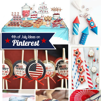Just out of Pinterest | Last Minute 4th July Party Ideas