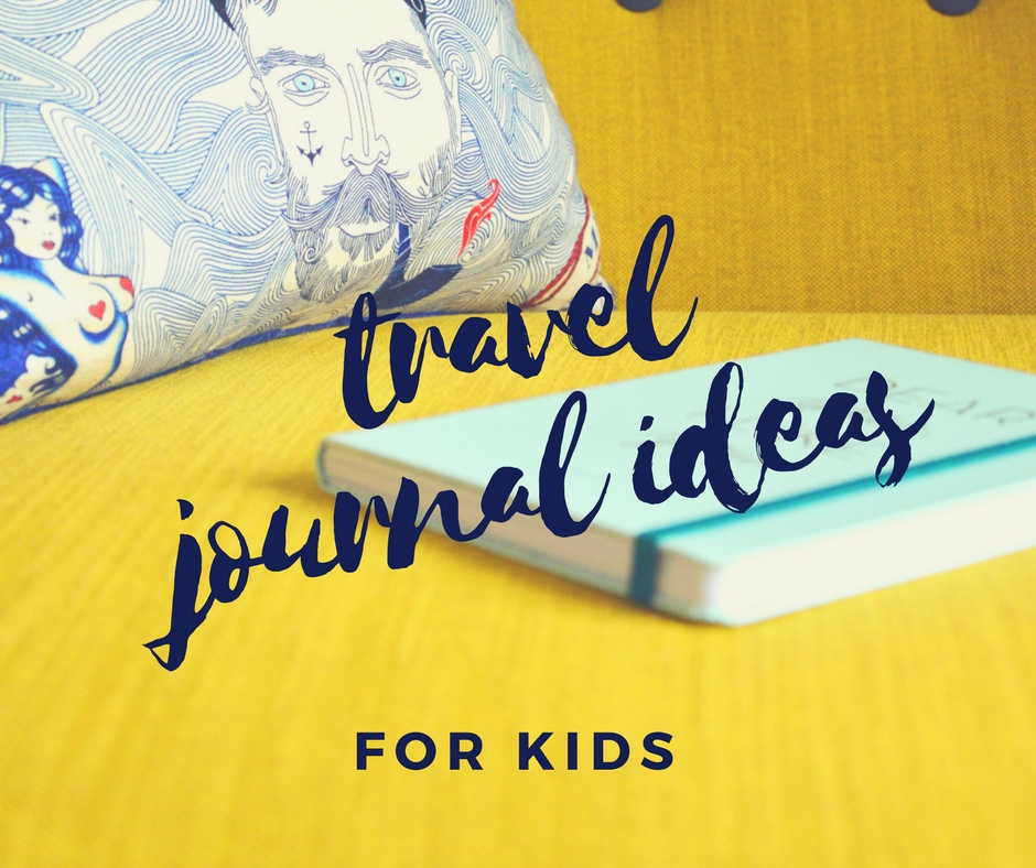 Kids Travel Journal My Travel Diary for Italy