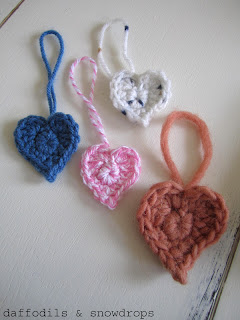 daffodils & snowdrops: How To... Make a Crochet Valentines ...