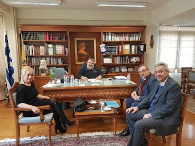 Επίσκεψη Αντιπεριφερειάρχη Πιερίας στην Π.Ε.Κοζάνης