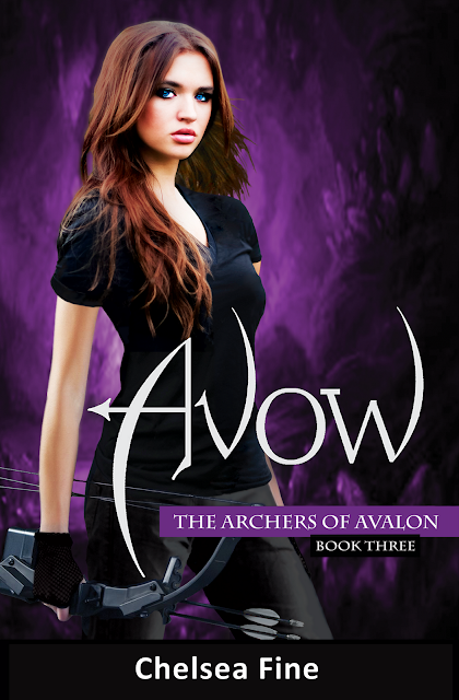 Cover Reveal!!!! Avow by Chelsea Fine