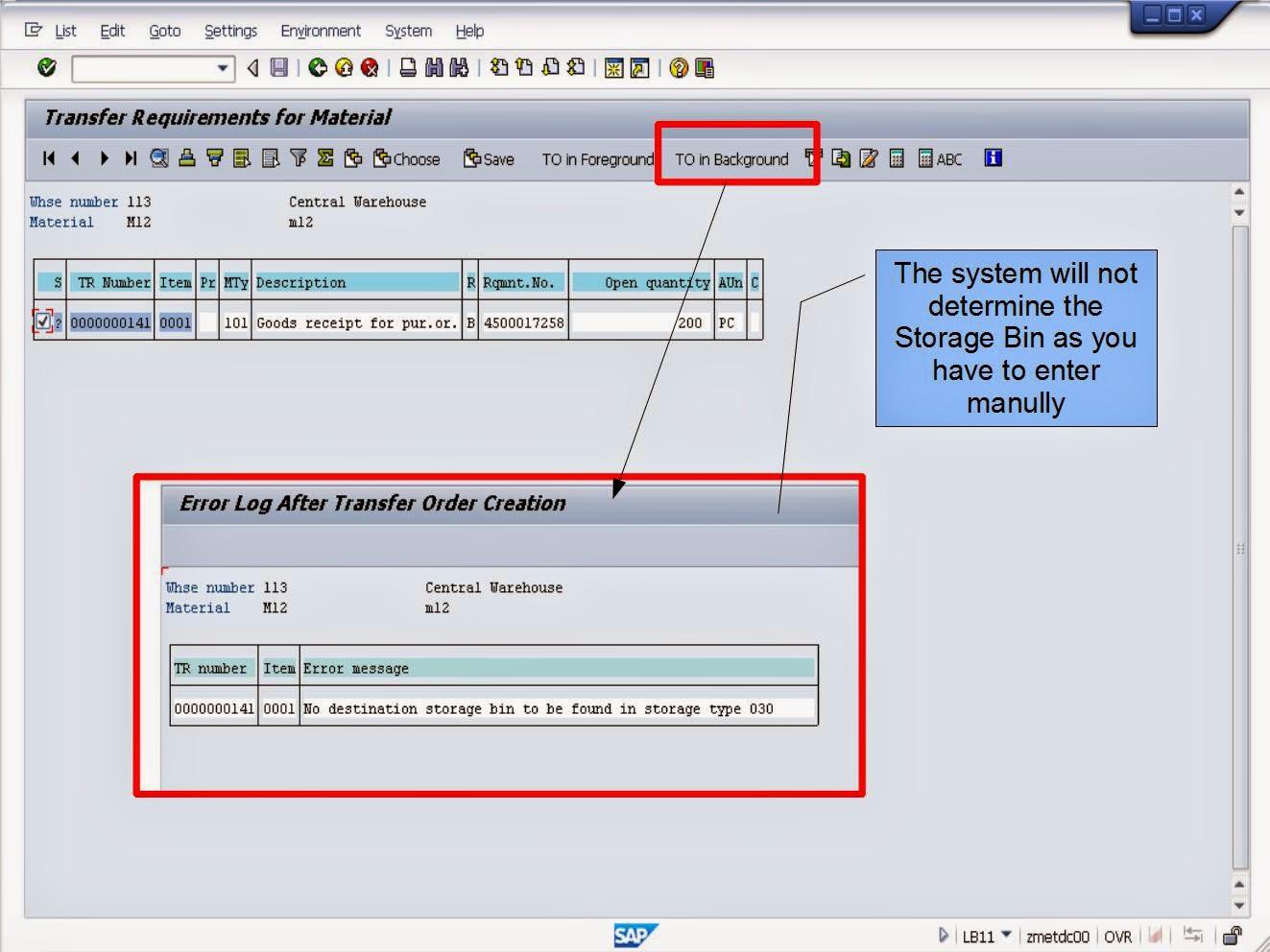 青蛙SAP分享 Learning & Examination: WMS Strategy Putaway