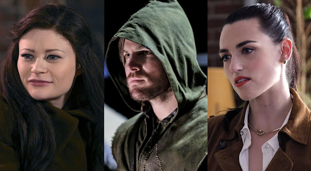 ouat, arrow e supergirl