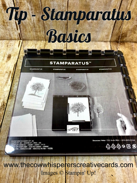 Tip, Stamparatus, Basics, How To