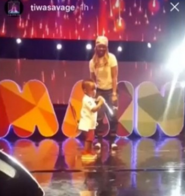 I-don't-want-my-son-to-do-music - Tiwa-Savage