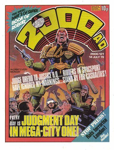 2000 AD Prog 121, Judge Dredd