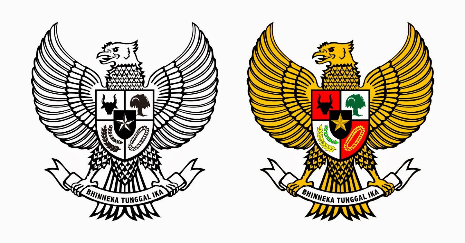 Garuda Pancasila  Download Vector Corel Draw