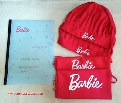 buku resep cupcakes topi koki celemek apron barbie masak chef stella lowis nurul sufitri blogger