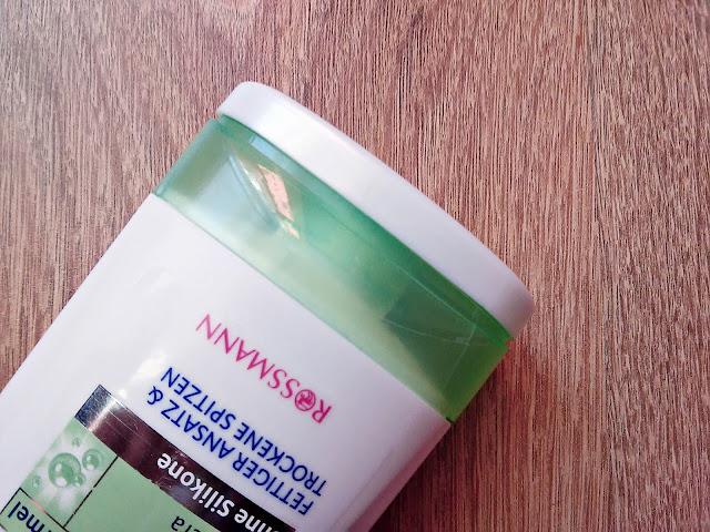 Isana Hair, Ansatz & Spitzen, Spulüng - Odżywka pielęgnująca włosy od nasady aż po końce, zamknięcie opakwania