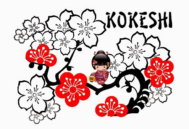 Para hacer Invitaciones, Tarjetas, Marcos o Etiquetas para Imprimir Gratis de Kokeshi.