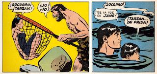 Tarzán adaptaciones al comic por Florentino Florez