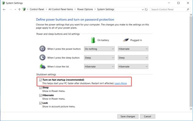 كيفية إصلاح مشاكل وضع السكون في ويندوز 10؟