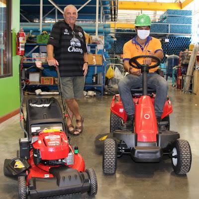 Troy Bilt Ride On Lawn Mower Electric Start Mulcher