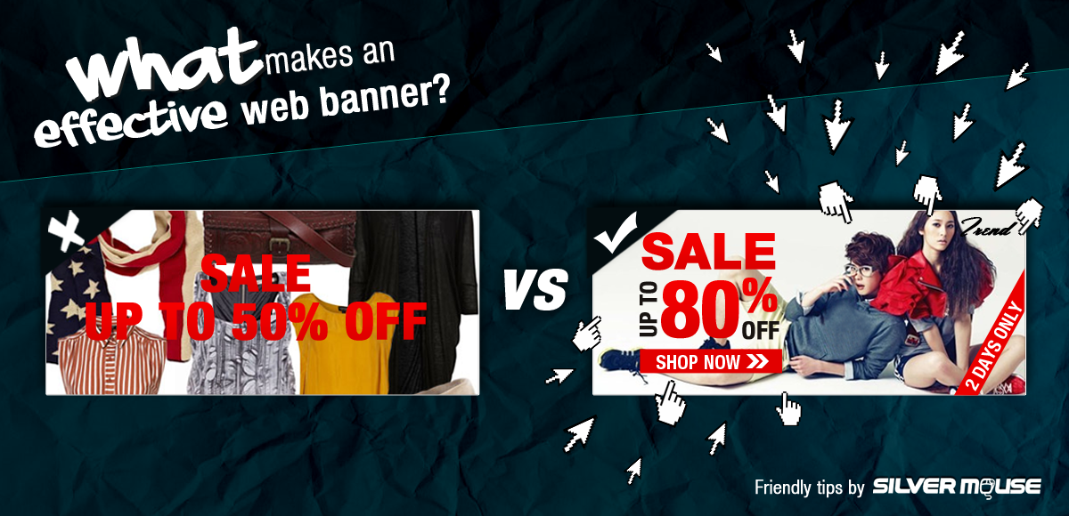 What makes an effective web banner?