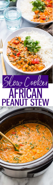 Slow Cooker African Peanut Curry