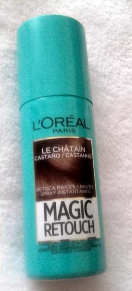 Spray de colores para el pelo mercadona