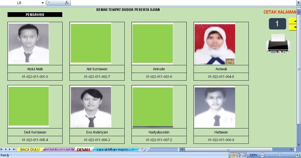 Software Denah Duduk Plus Foto Aplikasi Excel Free Download Blog Edukasi