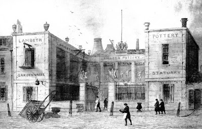 1840 Doulton & Watts Lambeth High Street Factory