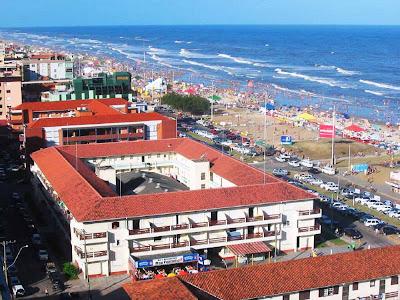 Vista da cidade de Capão da Canoa - RS