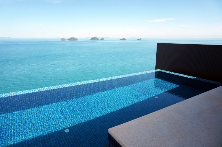Euriental | fashion and luxury travel | Conrad Koh Samui, ocean view pool villa