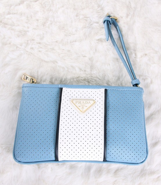 6e62ac049356 ... get prada white clutch bag blue 7003 174.17 save 47 off e6c09 3b54f