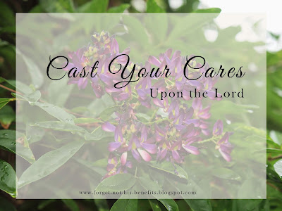 cast your cares upon the lord j.r. miller quote