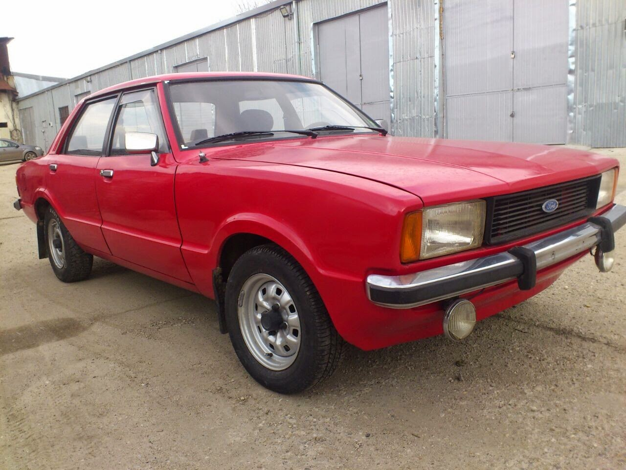 Old School Garage Old School Garage 1975 Ford Taunus