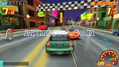 Game PPSSPP Asphalt Urban GT 2 ISO High Compressed Full Version Free Download