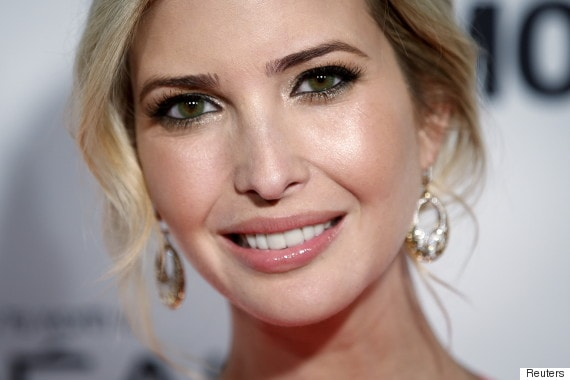 Descripción: 10 Famosos que Usan Lentillas de Contacto - Ivanka Trump