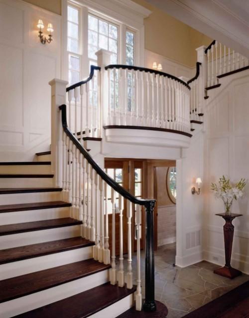interior design musings stairwell lighting. Black Bedroom Furniture Sets. Home Design Ideas