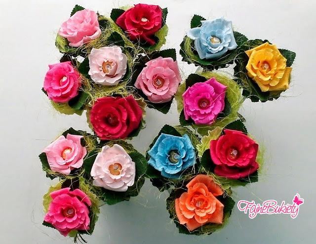 Róża z Ferrero Rocher