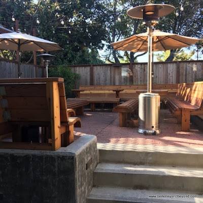 patio beer garden at Way Station Brew in Berkeley, California