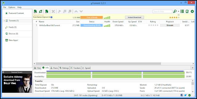 Descargar Utorrent 3 4 Full Espa 241 Ol 2016 Ultima Version