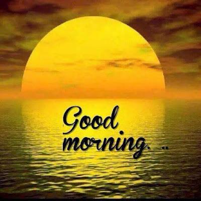 sweet sunrise good morning whatsapp photo