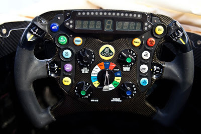 Kimi Raikkonen Streering Wheel - Wordless Wednesday #70 - Glad to see a sense of humour is still strong in F1. Kimi's steering wheel on the new E21...