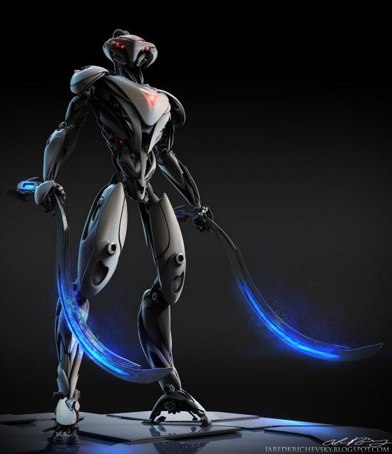 Jared Krichevsky artstation arte esculturas digitais modelos 3D criaturas fantasia ficção científica filmes séries tv