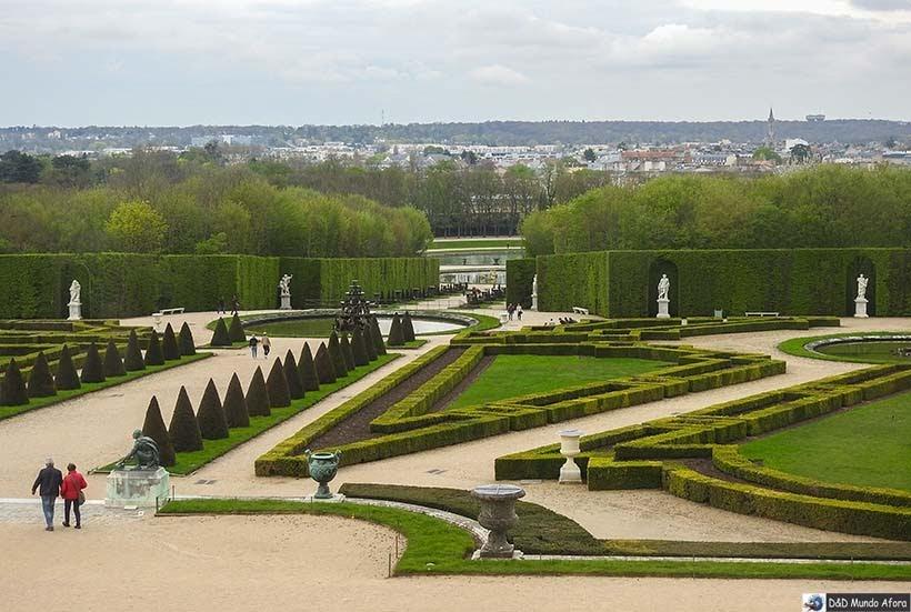 Jardins do Palácio de Versalhes - O que fazer em Paris: principais pontos turísticos