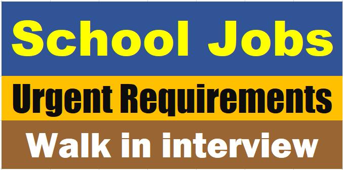 SHARJAH INDIAN SCHOOL VACANCIES 2018 JOB OPENINGS - GULF JOB PLUS