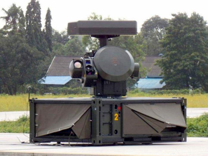 Sistem senjata anti udara Oerlikon Skyshield TNI AU