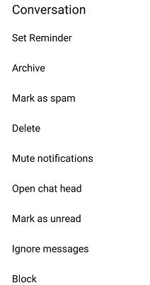 Cara Mematikan Notifikasi  Messenger Facebook 5