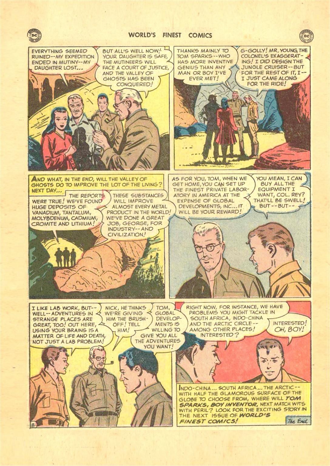 Read online World's Finest Comics comic -  Issue #50 - 36