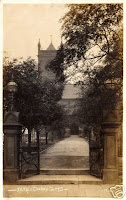 St James parish church, Milnrow, old photo