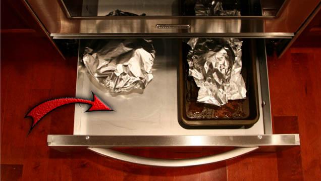 adevarata intrebuintare a sertarului de sub cuptor