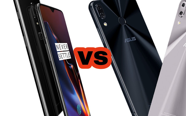 OnePlus 6T vs Zenfone 5z | Specs Comparison