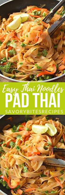 Pad Thai Noodles (Easy Pad Thai)
