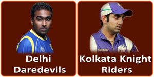 DD Vs KKR is on 1 May 2013.