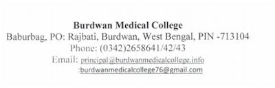 Govt. Of West Bengal Field Investigator Job Vacancy Burdwan